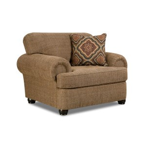 Simmons Upholstery 7533 BR Transitional Chair