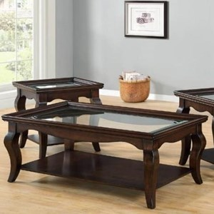 United Furniture Industries 7533 Rectangular Cocktail Table
