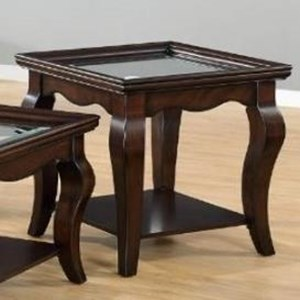 United Furniture Industries 7533 Square End Table