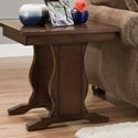 United Furniture Industries 7534 Square End Table - Item Number: 7534EndTable
