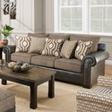United Furniture Industries 7591 Sofa - Item Number: 7591-SOFA