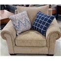 VFM Basics 7592BR Chair And A Quarter - Item Number: 93159