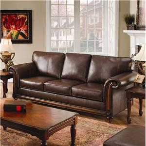 United Furniture Industries 8001 Stationary Sofa