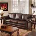 United Furniture Industries 8001 Stationary Sofa - Item Number: 8001S