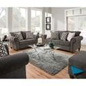 United Furniture Industries 8036 Living Room Group - Item Number: 8036 Living Room Group 1