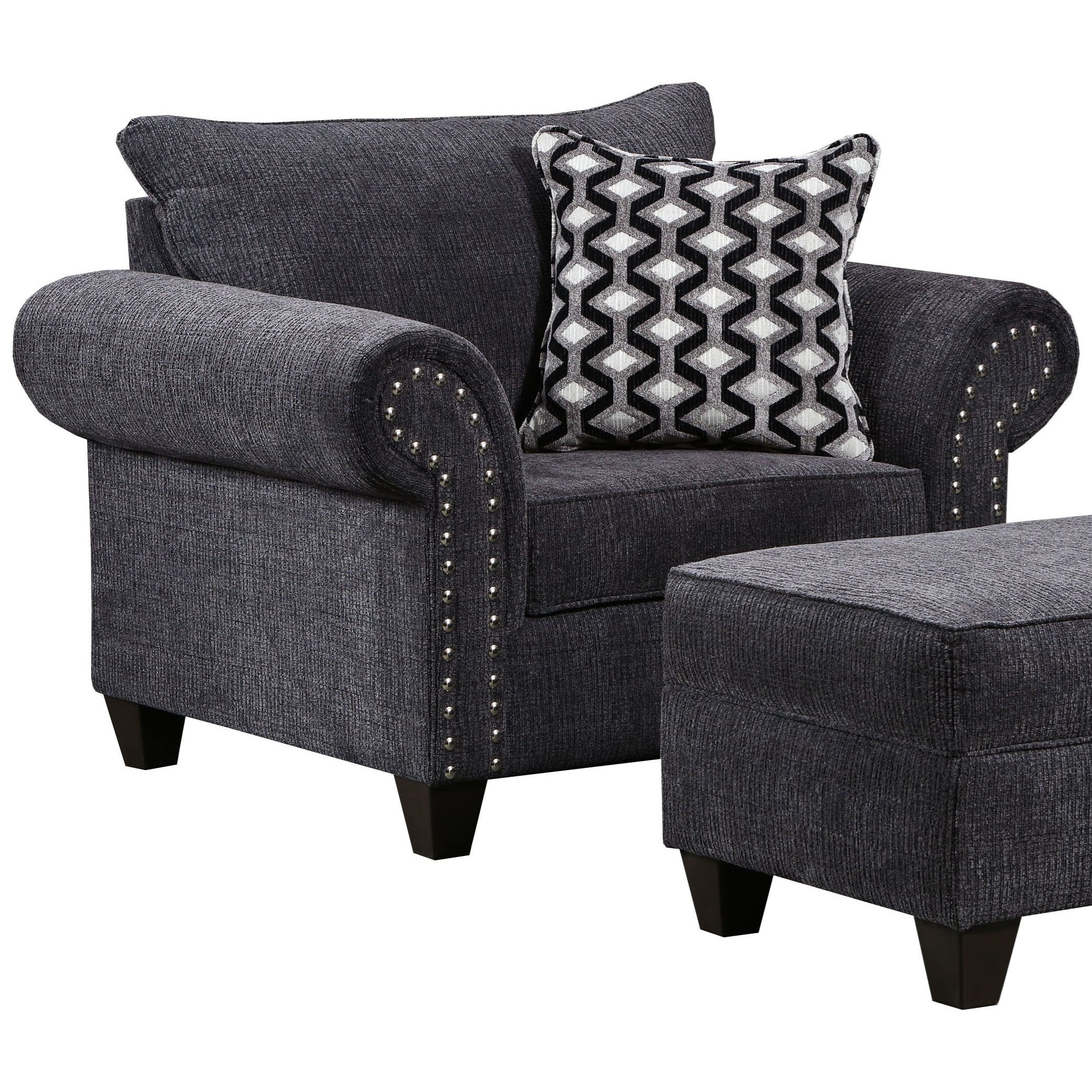 8036 Chair by United Furniture Industries at Dream Home Interiors