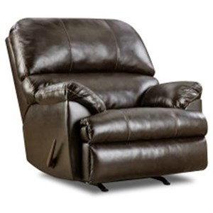 Simmons Upholstery 8049 Casual Rocker Recliner