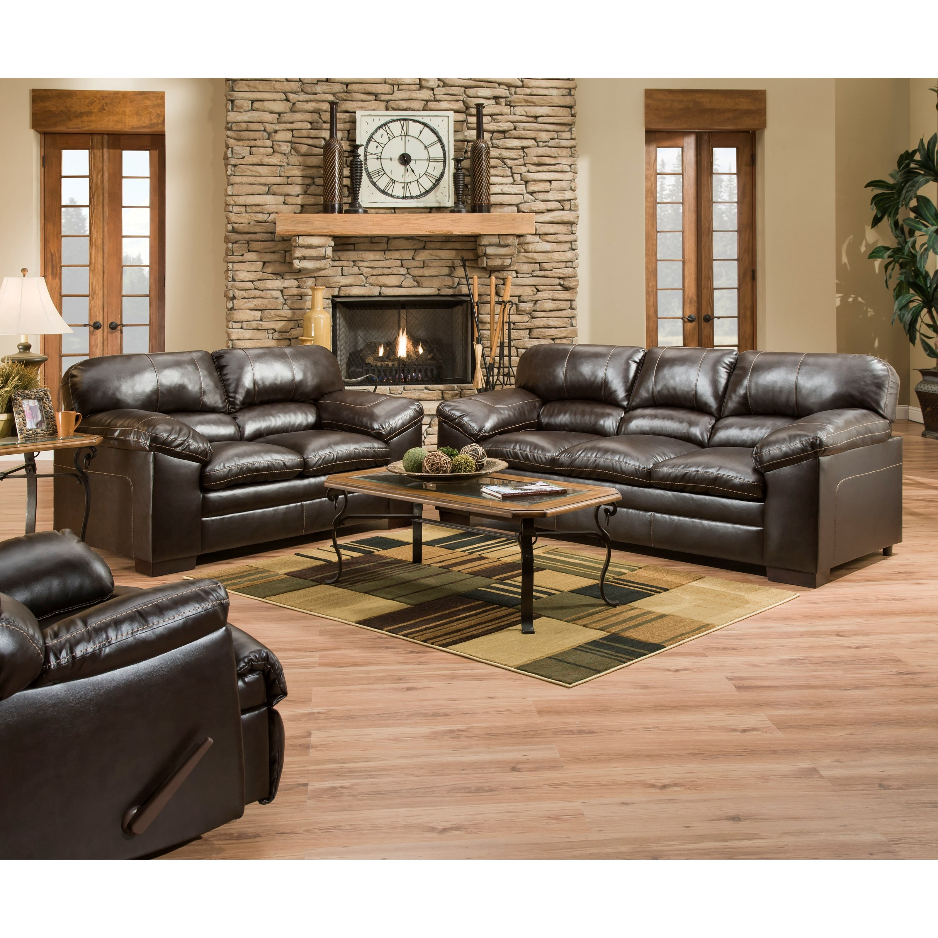 United Furniture Industries 8049 8049sofa Casual Sofa With
