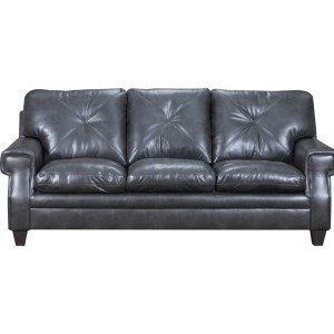 8065 Transitional Sofa with Key Rolled Arms by United Furniture Industries