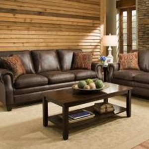 United Furniture Industries 8069 Transitional Sofa