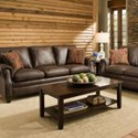 United Furniture Industries 8069 Transitional Sofa - Item Number: 8069Sofa-ShilohTobacco