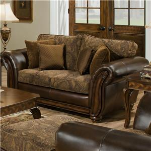 United Furniture Industries 8104 Love Seat