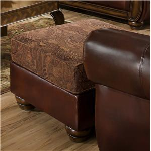 United Furniture Industries 8104 Ottoman