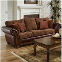 United Furniture Industries 8104 Sofa Sleeper - Item Number: 8104 QS Vino