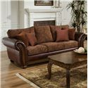 United Furniture Industries 8104 Stationary Sofa - Item Number: 8104 S Vino