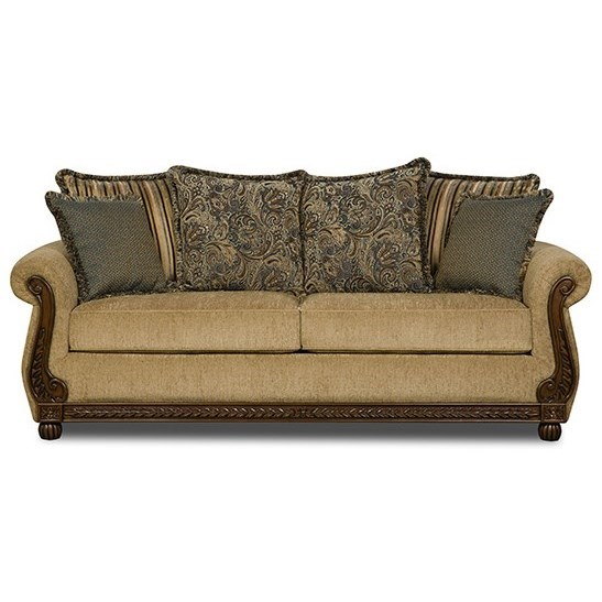 Simmons Upholstery 8115 8115sleepersofa Traditional Queen