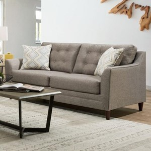 United Furniture Industries 8126 Sofa with Mid-Century Modern Style