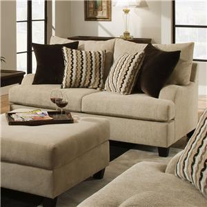 United Furniture Industries 8520 Loveseat