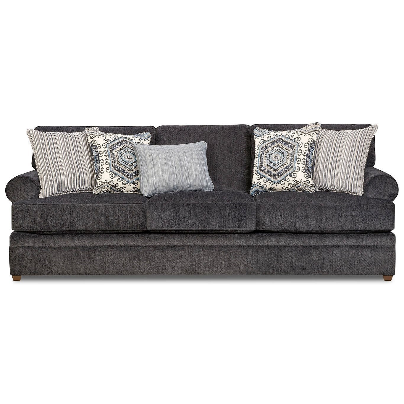 8530 BR Transitional Sofa by United Furniture Industries at Dream Home Interiors