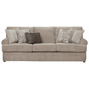 VFM Basics-ZZZ 8530 BR Transitional Sofa