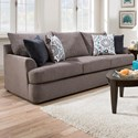 United Furniture Industries 8540BR Casual Sofa - Item Number: 8540BRSofa-GrandstandFlannel