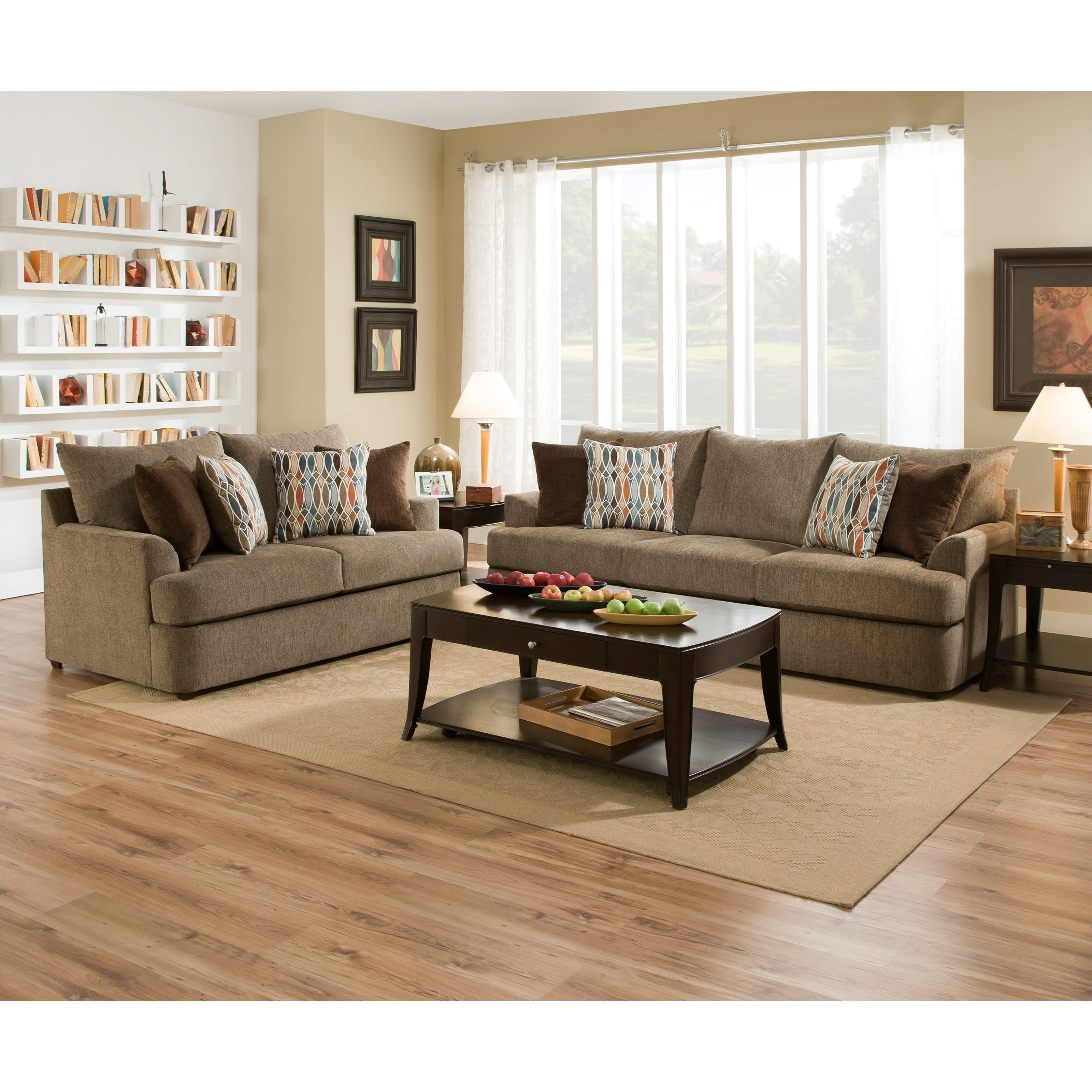 Cargo Brand Furniture: United Furniture Industries 8540BR 8540BRSOFA Casual Sofa