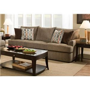 United Furniture Industries 8540BR Casual Sofa