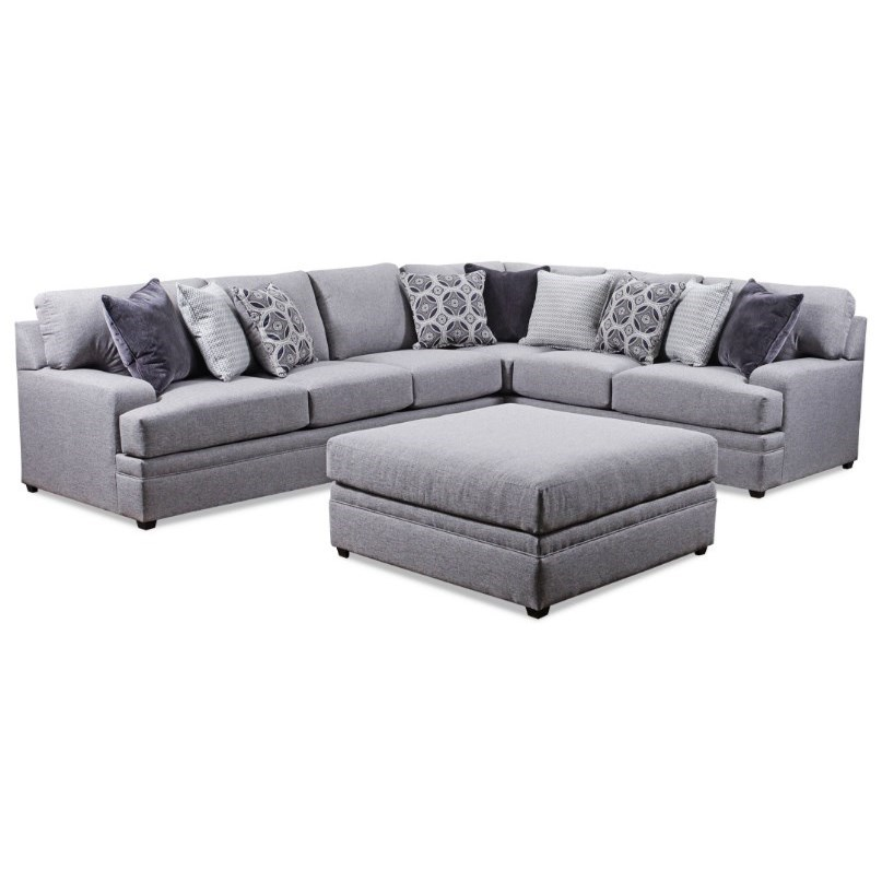 8561BR Casual Sectional Sofa by United Furniture Industries at Dream Home Interiors