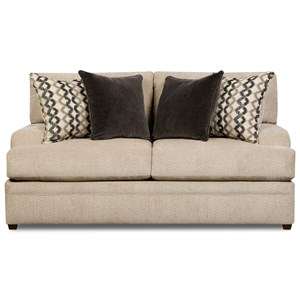 United Furniture Industries 8560 BR Casual Loveseat