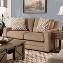 United Furniture Industries 8941BR Love Seat - Item Number: 8941BRLoveseat-Abbington Shale