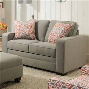 United Furniture Industries 9064 United Loveseat