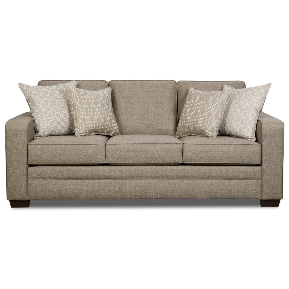 9065 Transitional Sofa by United Furniture Industries at Dream Home Interiors