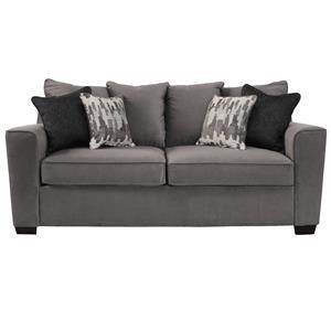 Simmons Upholstery Roxanne Gunsmoke Sofa