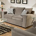 United Furniture Industries 9073 Loveseat - Item Number: 9073-02