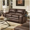 Simmons Upholstery 9085 Loveseat - Item Number: 9085LSABLE