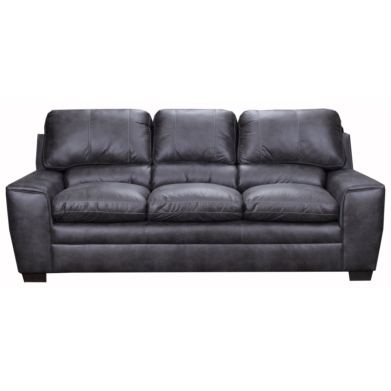 United Furniture Industries 9085 Sofa - Item Number: 9085Sofa-Shiloh Granite