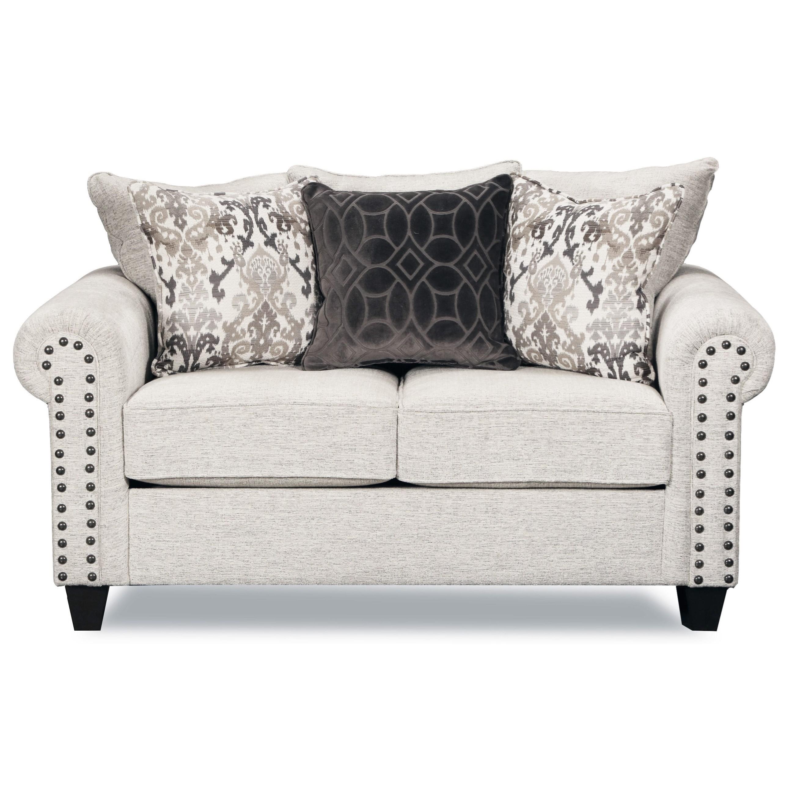 United Furniture Industries 9175BR Love Seat - Item Number: 9175BRLOVESEAT-Della Linen