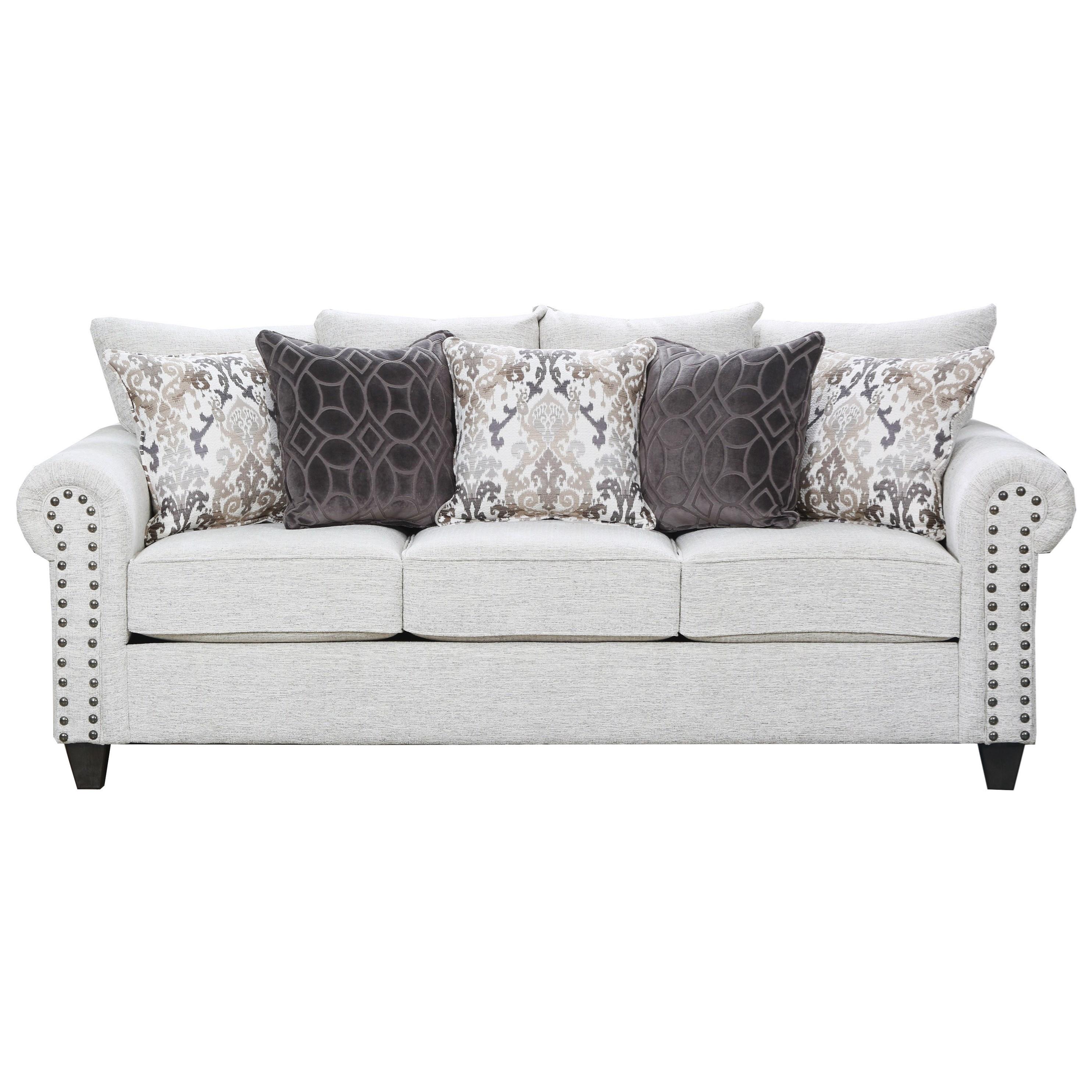 United Furniture Industries 9175BR Sofa - Item Number: 9175BRSOFA-Della Linen