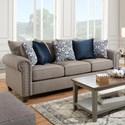 United Furniture Industries 9175BR Sofa - Item Number: 9175BRSOFA-Emma Slate
