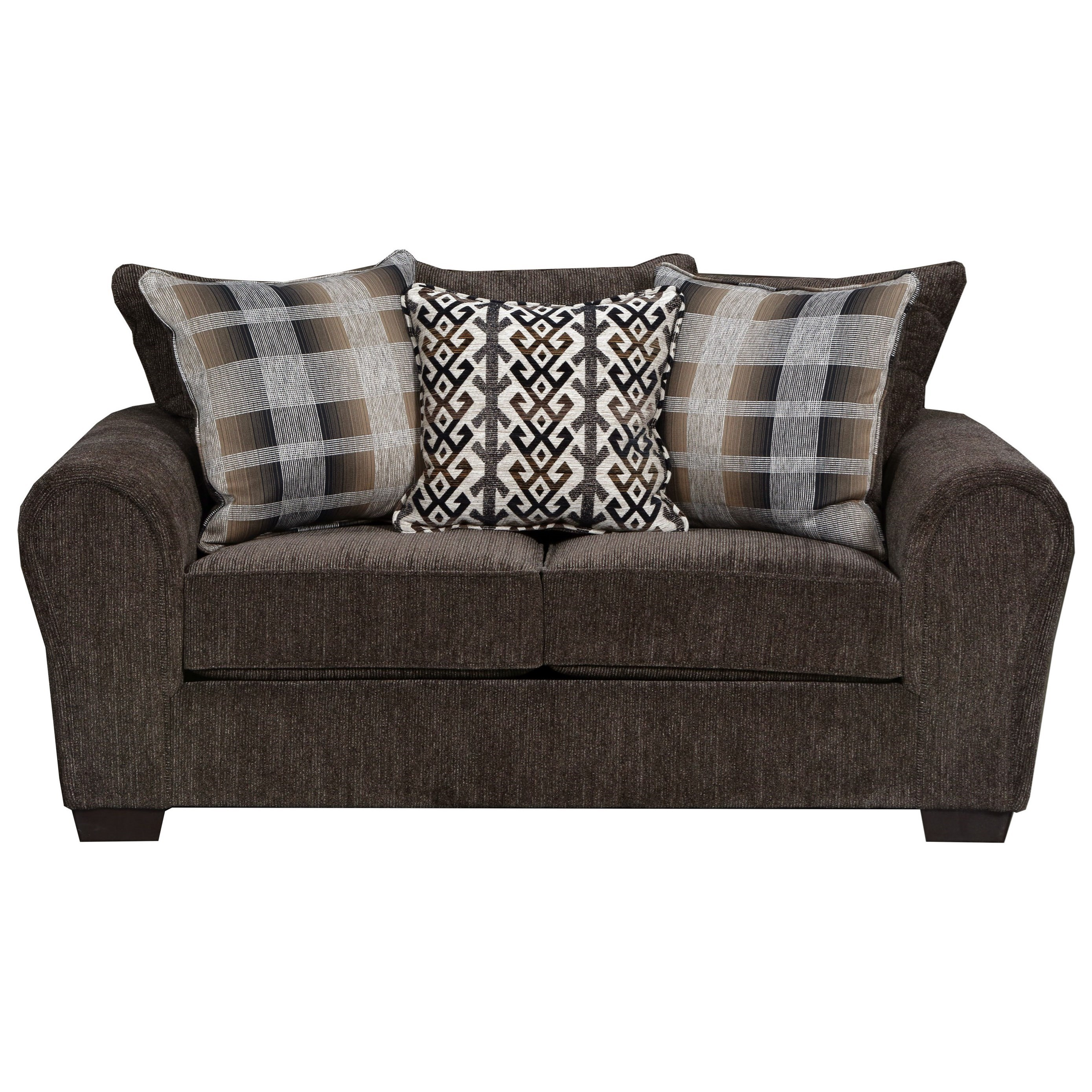9182BR Loveseat by United Furniture Industries at Dream Home Interiors