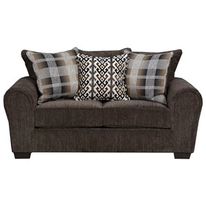 United Furniture Industries 9182BR Love Seat