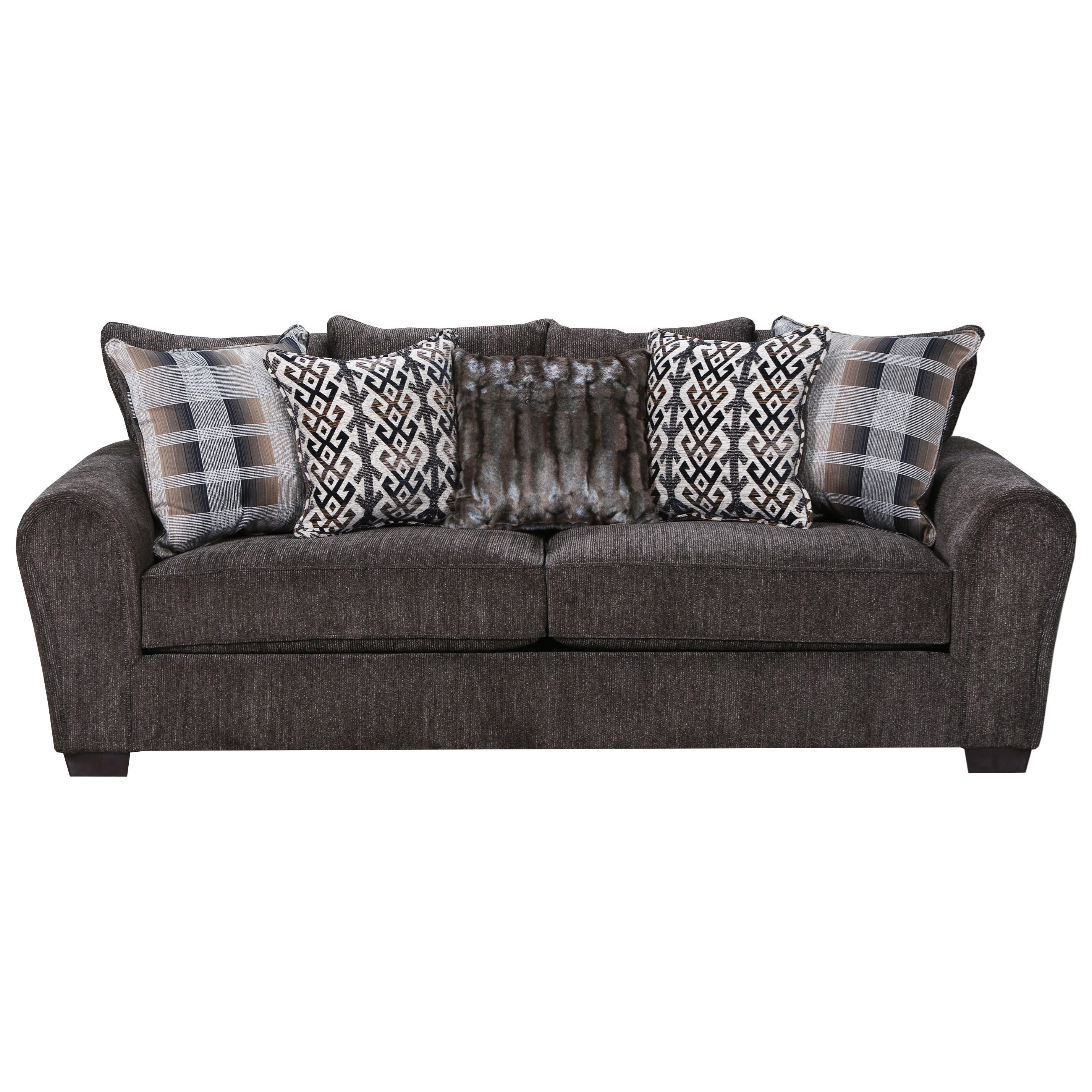 United Furniture Industries 9182BR Sofa - Item Number: 9282BRSofa-Parks Tiger