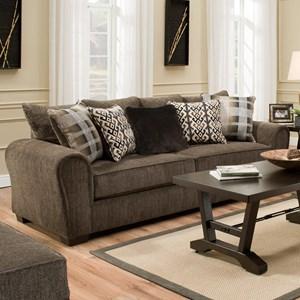 United Furniture Industries 9182BR Sofa