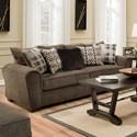 United Furniture Industries 9182BR Sofa - Item Number: 9282BRSofa-Parks Tiger