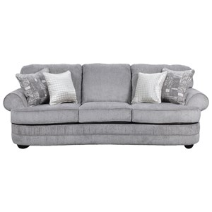United Furniture Industries 9255BR Transitional Sofa