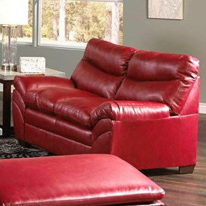 Simmons Upholstery 9515 Loveseat