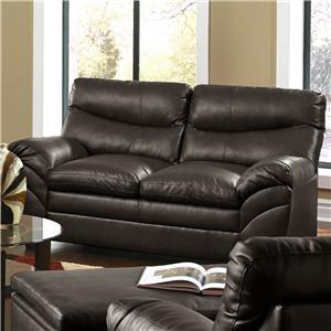 Simmons Upholstery 9515 Loveseat