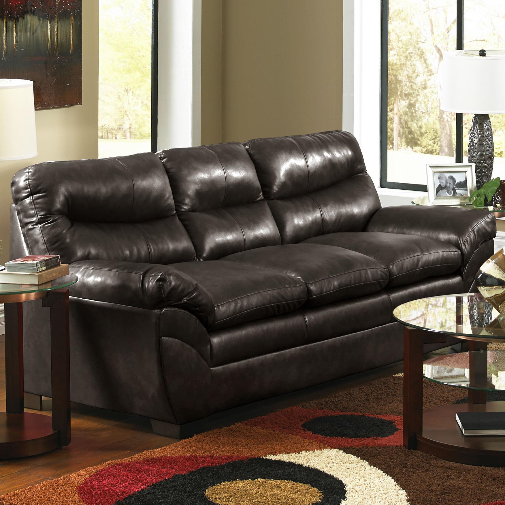 United Furniture Industries 9515 Sofa - Item Number: 9515 Sofa Espresso