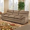 United Furniture Industries 9515 Sofa - Item Number: 9515Sofa-LunaShitake