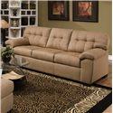 United Furniture Industries 9558 Transitional Sofa - Item Number: 9558 Sofa Latte